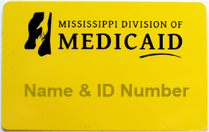 Family Planning Waiver Yellow Medicaid ID Card
