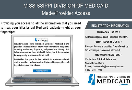 Mede/Provider Access image